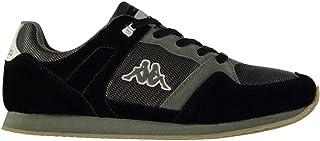 Official Brand Kappa Fusdo Trainers Juniors Boys Grey/Black Shoes Sneakers Kids Footwear