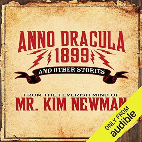 Anno Dracula 1899 audiobook cover art