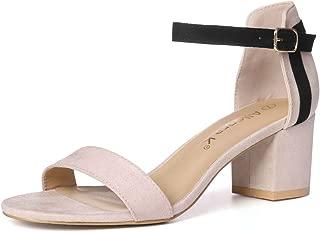blue mid heel sandals uk