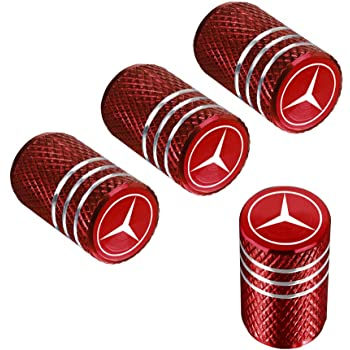 QINGTECH 4pcs Valve Stem Caps,Tire Caps for Car,Motorbike,Trucks,Bike and Bicycle Aluminum Black