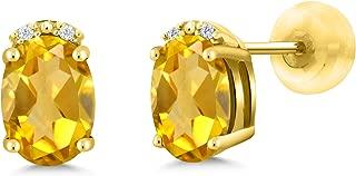 canary yellow oval diamond ring