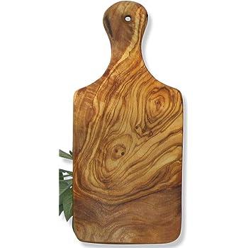 Bois d'olivier, plusieurs articles : planche, cuillère à