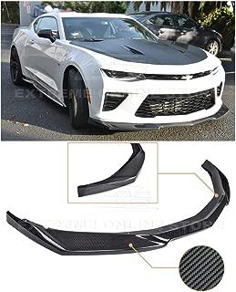 For 2016-2018 Chevrolet Camaro SS   ZL1 Style Front Bumper Lower Lip Splitter (Carbon Fiber)