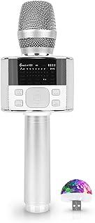 Miracle M100 - Wireless Bluetooth Karaoke Microphone,...