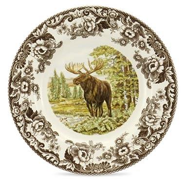 Spode Woodland Majestic Moose Dinner Plate