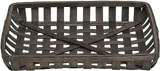 Best rectangular tobacco basket Reviews