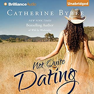 Not Quite Dating audiobook cover art