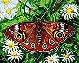 GMMH Diamond Completo bedeckung con Marco de Madera Painting Juego DE 40x 50Diamante Pintura Bordado Mano Manualidades mosaicos Flores Cesta Casa Am Bach