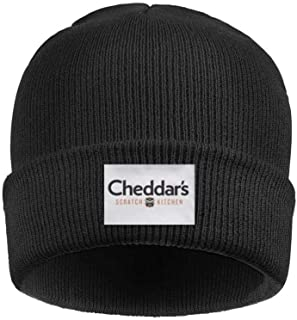 Headwear for Mens Womens Slouchy Cheddar's-Scratch-Kitchen-Logo-Sign- Solid Color Knit Hat