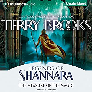 The Measure of the Magic audiobook cover art
