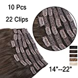 Clip In Extensions 10 Teiliges SET 160g 100% Remy Echthaar