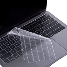 ProElife Premium Keyboard Cover Ultra Thin TPU Keyboard Protective Skin for New MacBook Air 13-Inch with Touch ID Retina Display (A1932, 2018 2019 Release) (Transparent Clear)