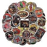 XXCKA Motocicleta Vintage Girl Stickers Pattern para Skateboard Laptop Equipaje Motorcycle Beauty Sticker 45Pcs / Set