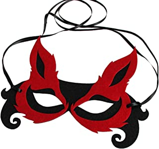 Bodermincer Sexy Women Fox Half Face Mask Adult Children Mask Halloween Host Banquet Party Eye Face Mask Masquerade Party
