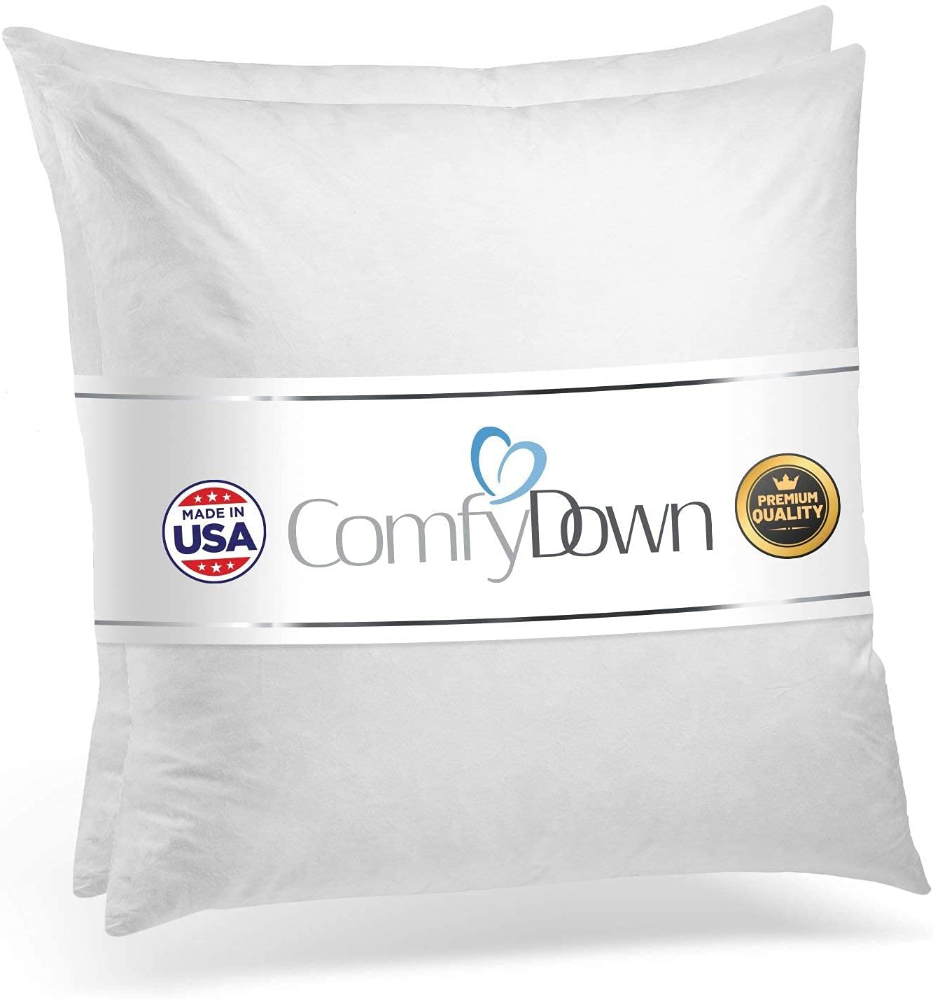 ComfyDown Set of Two 95% Kansas City Mall Feather Square Detroit Mall X 5% Decora 22 Down