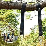 Wilbest 1 Paar Swing Hanging Gurt Kit, schaukel Befestigung Hängematte Hängesessel Wasserdicht,...