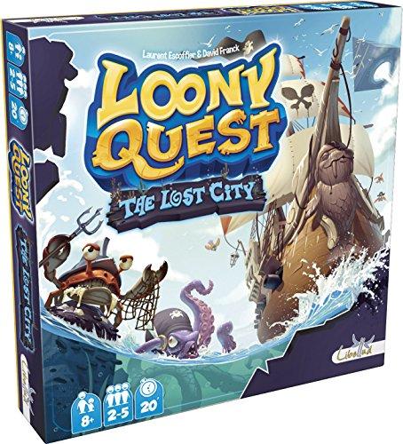 Asmodee–Loony Quest–Gesellschaftsspiel (französische Version)