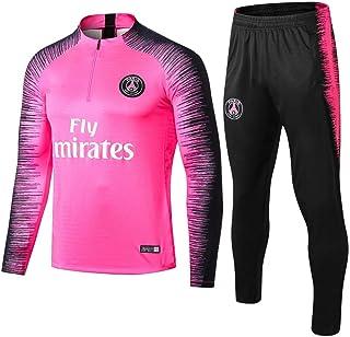 comprar comparacion Paris Black Camiseta de Manga Larga de fútbol Primavera y otoño Chaqueta Apariencia Adultos Sudaderas Trajes de Entrenamiento