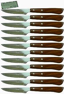 Cuchillos Chuleteros Madera Celaya Sierra Lote 12 Uds.
