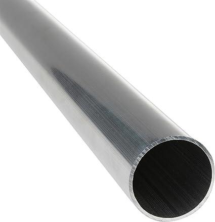 100cm auf Zuschnitt L/änge 1000mm Aluminium Rundrohr AlMgSi05 /Ø 55x2,5mm