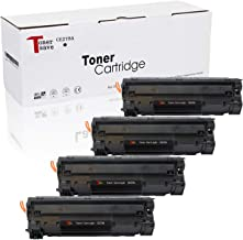 TonerSave CE278A Toner 78A for HP 78A Toner HP Laserjet P1606DN M1536DNF P1606 M1536 MFP P1560 P1566 Printer High Yield Black Toner 4 Pack