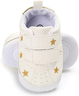 BENHERO Baby Boys Girls Canvas Sneaker First Walker Shoes 0-18 Months