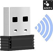 CooSpo USB Ant + Adaptador de Dongle Receptor Transmisor de USB Tamaño Mini para Garmin Sunnto Zwift TacX Bkool PerfPRO Studio CycleOps Virtual Trainer TrainerRoad …
