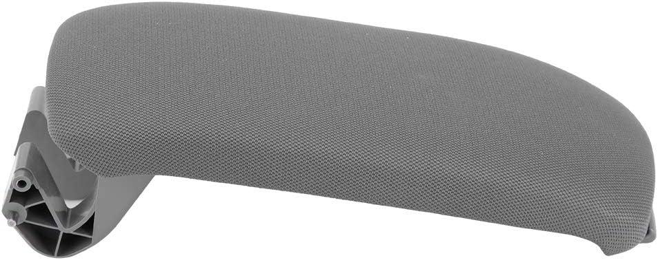 Cubierta del reposabrazos Amarillo Cubierta de la tapa de la consola central del reposabrazos de cuero de microfibra para A3 8P 03-12 8P0864245P8E1