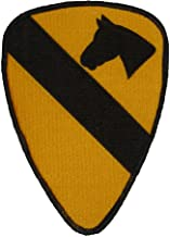 1ST CAVALRY DIVISION REGULATION SIZE PATCH - Color - Veteran Owned Business