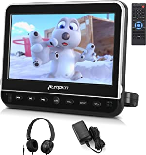 pumpkin 10.1 Inch Headrest Car DVD Player with Free Headphone, Support 1080P Video, HDMI Input, AV in Out, Region Free, US...