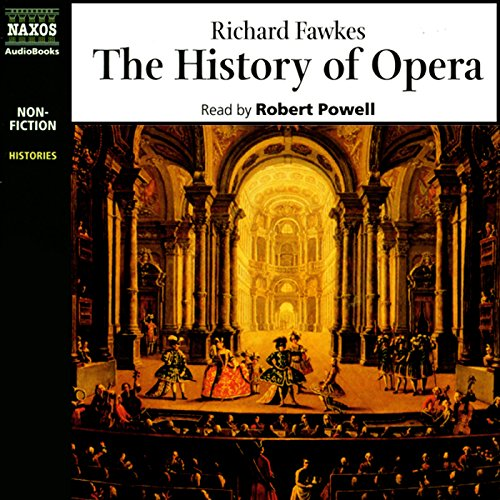 The History of Opera  audiobook cover art