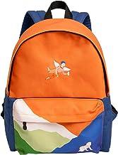 WOCTP Rucksäcke, College-Rucksäcke für Studenten, Freizeit, Segeltuch, groß für Mädchen, hohe Schule, Büchertasche, Scenic Daypack Reisetasche