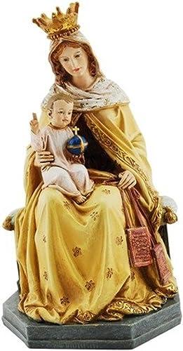 descuento online Virgen María Jesús estatua de nuestra señora y el el el Niño Mt Carmel escapulario  precioso