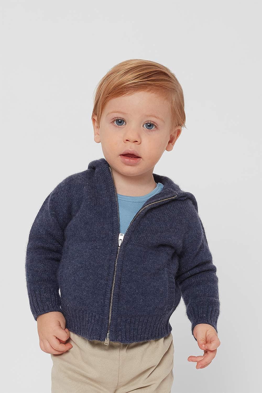 Baby Boy Joao 100% Cashmere Cardigan Hoodie