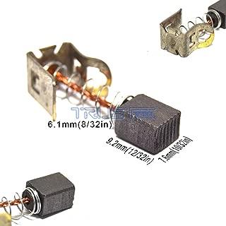 Eztronics Corp® Carbon Brushes For Bosch 2 607 034 904 GSR GSB 12V 14.4V 18V 24V 36V VE-2 Li(2-607-034-904 (7.6mm x 6.1mm X 9.2mm))