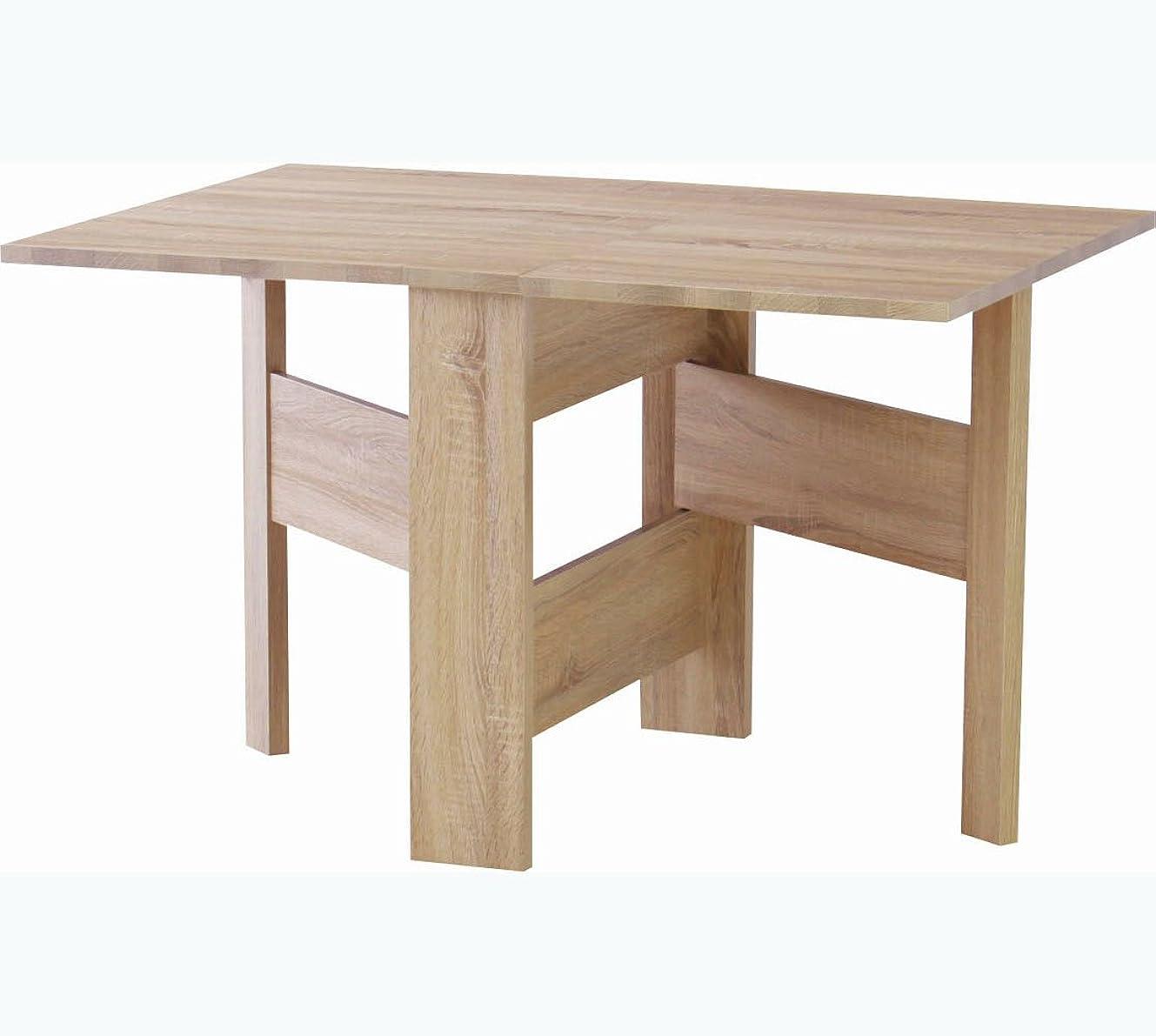 ゲインセイロードブロッキング慢なAZUMAYA フォールディングダイニングテーブル フィーカ FIK-103NA