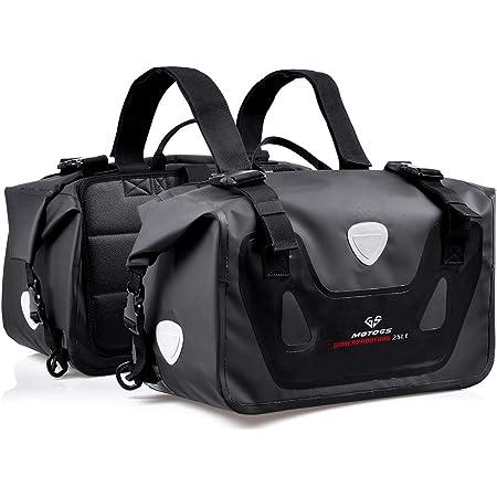 バイク 50L大容量 ツーリングバッグ サイドバッグ 上質 防水防塵リュックサック バッグ 左右セット