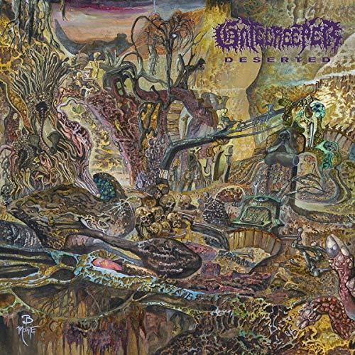 Deserted LP (Neon Violet with Heavy Gold Splatter) [Vinyl LP]