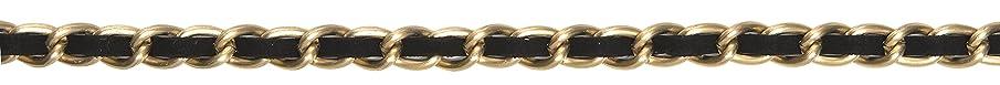 Simplicity 1861256879 13 mm Matte Metal Chain Trim and Embellishments, Black