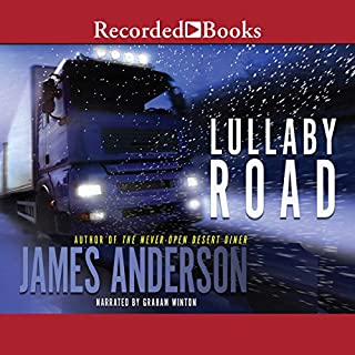 Lullaby Road audiobook cover art