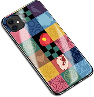 iPhone7 iPhone8 鬼滅の刃 Demon Slayer コスプレ 携帯電話の殻 小物 道具 アニメ 漫画 アイフォン スマホケース スマホカバー IPHONE 7 8 保護ケース 強化 鏡面ガラス ハードケース