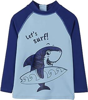 5bdee1b45b1e8 Vertbaudet T-Shirt de Bain garçon Anti UV Motif Requin Fun
