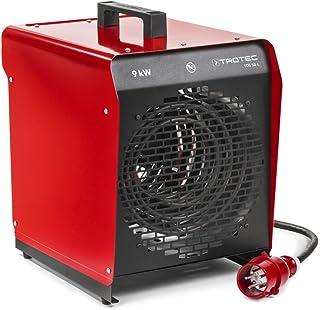 TROTEC TDS 50 E Elektroheizgebläse max. 9 kW Integriertes Thermostat 2 Heizstufen Kondensfreie Wärme Kein Sauerstoffverbrauch Elektroheizer Heizstrahler
