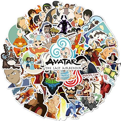 Avatar: The Last Airbender Stickers, Waterproof Laptop Cartoon Stickers Water Bottle Bike Bumper Luggage Skateboard Graffiti, Best Gift for Kids,Children,Teen (Avatar: The Last Airbender)