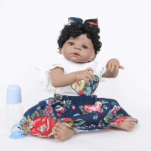 Hongge Reborn Baby Doll,55cm lebensechte Puppe Puppe Spielzeug Geschenk für Kinder
