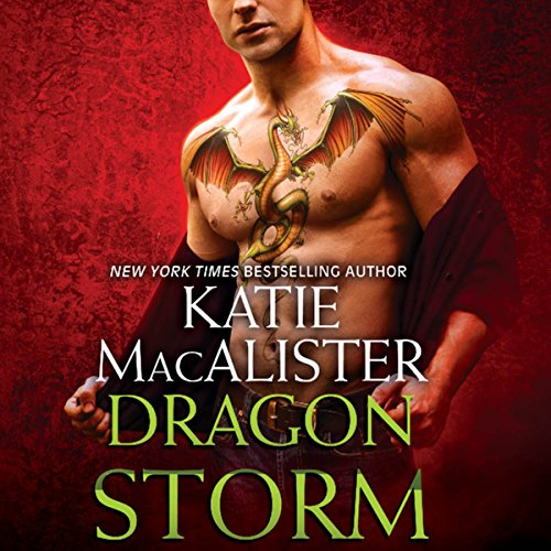 Dragon Storm audiobook cover art