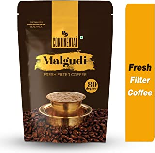 Continental Malgudi Filter Coffee 500gm Pouch (80% Coffee - 20% Chicory)