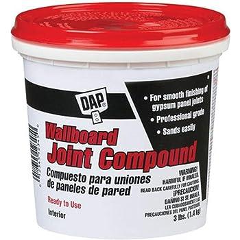 Dap 10100 Wallboard Joint Compound, 3-Pound
