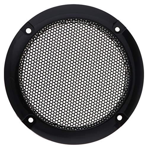 FLAMEER 3 Zoll Lautsprecher Gitter Lautsprecher schutzgitter - Schwarz