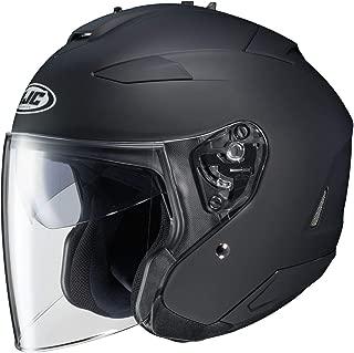 HJC Solid Adult IS-33 II Cruiser Motorcycle Helmet - Matte Black/Large